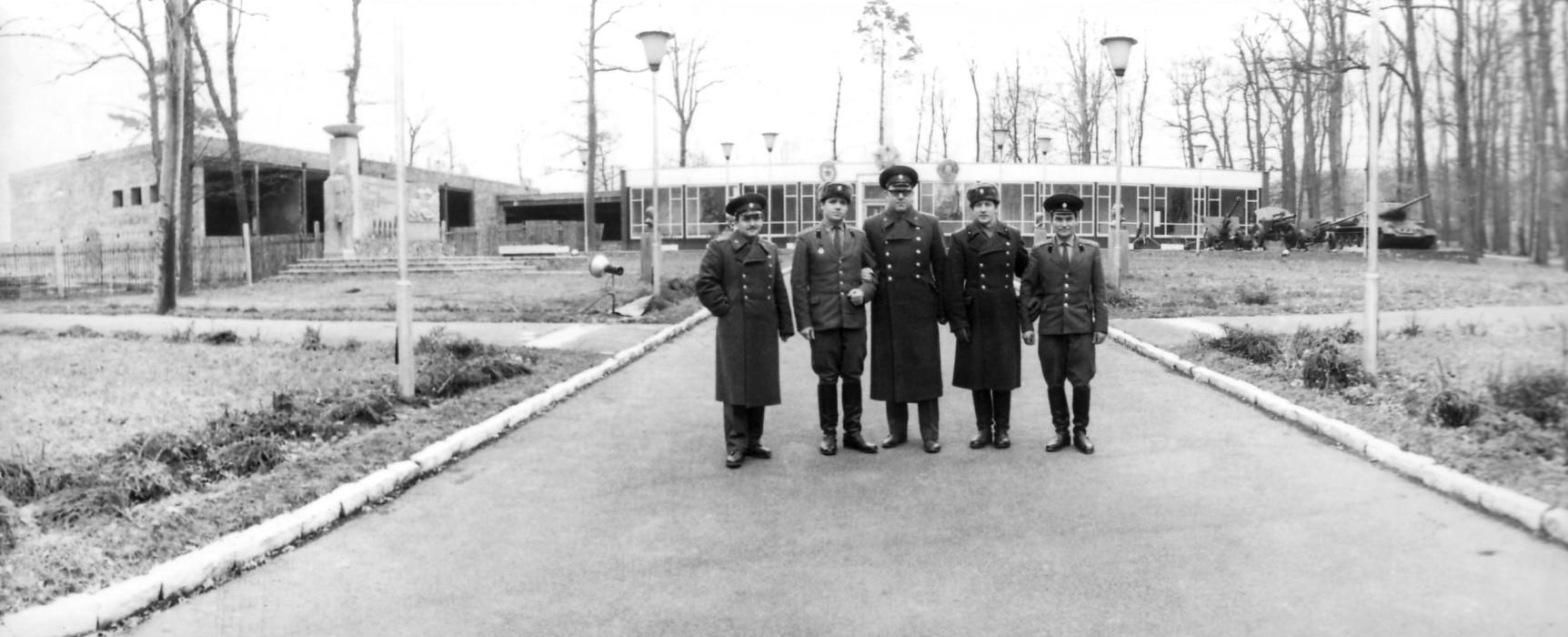 знакомство дошкольников с музеем боевой славы